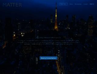 matter.build screenshot