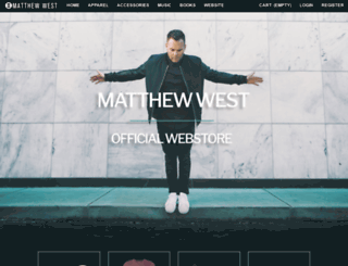 matthewwest.essentialfan.com screenshot