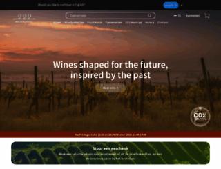 matthys-wines.be screenshot