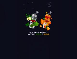 mattoni.cz screenshot