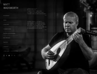 mattwadsworth.com screenshot