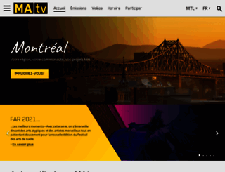 matv.ca screenshot