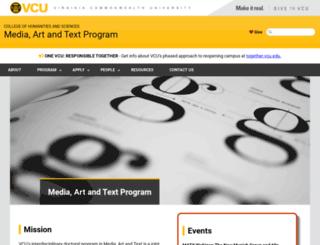 matx.vcu.edu screenshot