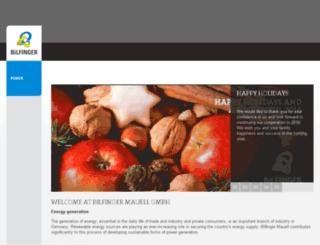 mauell.bilfinger.com screenshot