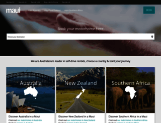 maui-rentals.com screenshot