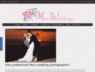 maui-weddings.us screenshot
