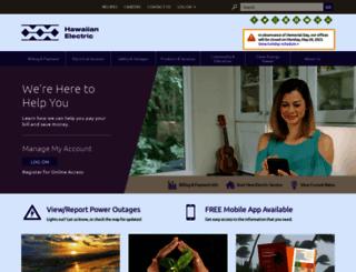 mauielectric.com screenshot