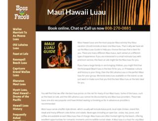 mauihawaiiluau.com screenshot