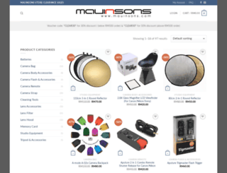 mauinsons.com screenshot