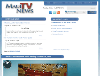 mauitvnews.com screenshot