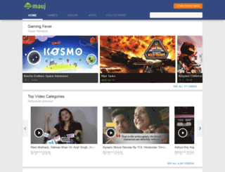 mauj.com screenshot