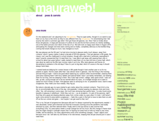 mauraweb.com screenshot