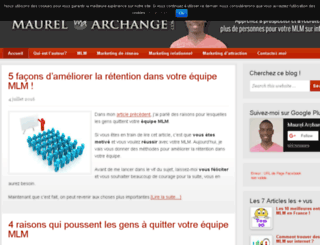 maurelarchange.com screenshot