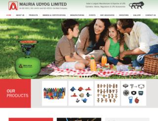 mauria.com screenshot
