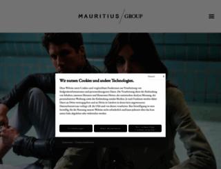 mauritius.de screenshot