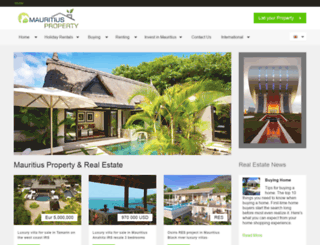 mauritiusproperty.org screenshot