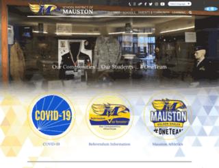 maustonschools.org screenshot