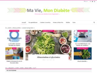 maviemondiabete.blogspot.fr screenshot