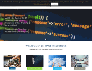 mawe.co.at screenshot