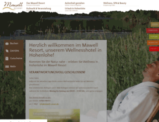 mawell-resort.de screenshot