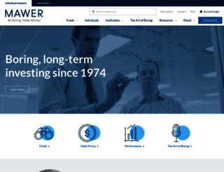 mawer.com screenshot
