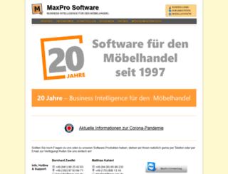max-pro.de screenshot