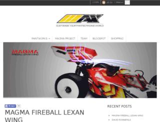 maxairbrush.com screenshot