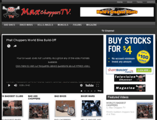 maxchopperstv.com screenshot