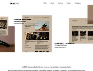maxco.com.au screenshot