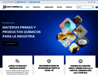 maxejimenez.com screenshot