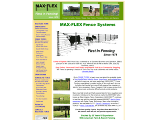 maxflex.com screenshot