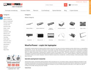maxforpower.pl screenshot