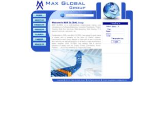 maxglobalservices.in screenshot