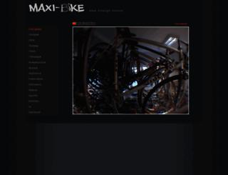 maxi-bike.hu screenshot