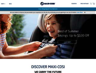 maxi-cosi.com screenshot