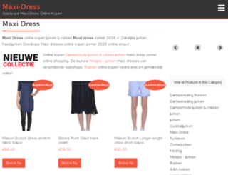 maxi-dress.nl screenshot
