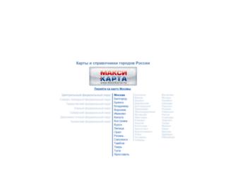 maxi-karta.ru screenshot