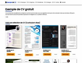 maxicv.com screenshot