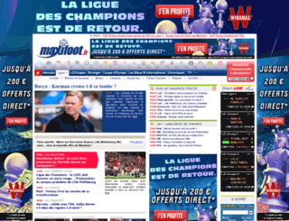 maxifoot.com screenshot