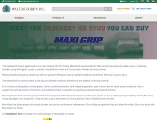 maxigripicestuds.com screenshot