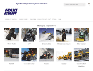 maxigripstore.com screenshot
