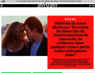 maxima.pt screenshot