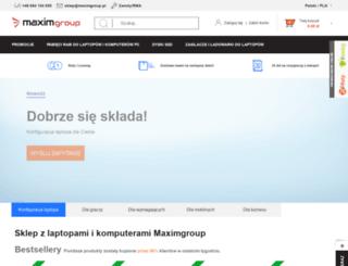 maximgroup.pl screenshot