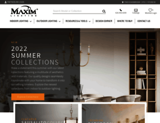 maximlighting.com screenshot