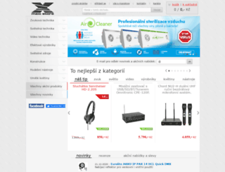 maxistore.cz screenshot