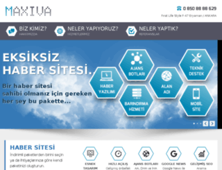maxiva.info screenshot