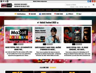 maxoe.com screenshot