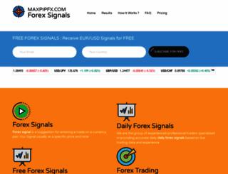 maxpipfx.com screenshot