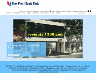 maxplensoajepinto.com screenshot