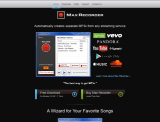 maxrecorder.com screenshot